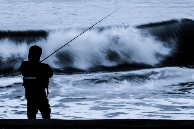 サーフヒラメルアー釣り