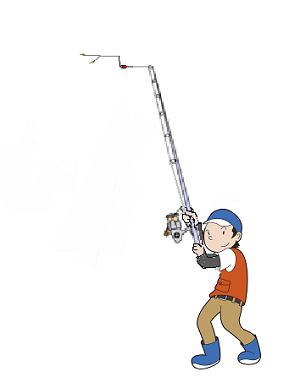 キス釣り投げ方4