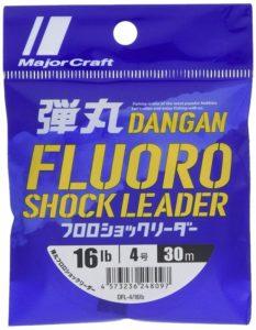 メジャークラフト ライン 弾丸フロロショックリーダー DFL-4/16lb 4.0号(16lb)30m