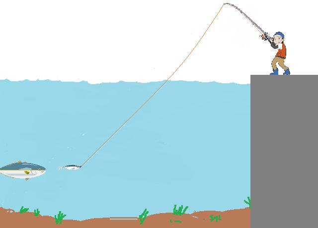 泳がせノーシンカー仕掛け釣り方