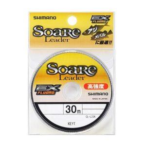 シマノ(SHIMANO) ショックリーダー ソアレ EX フロロカーボン 30m 0.8号 3lb クリア