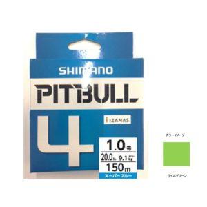 シマノ(SHIMANO) PL-M64R PITBULL(ピットブル)4 200m 0.8号 ライムグリーン