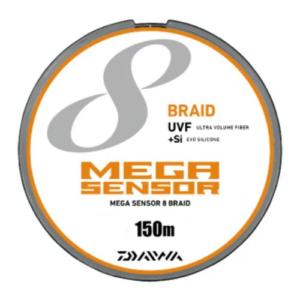 PEラインダイワ(Daiwa) PEライン UVFメガセンサー 8ブレイド+Si 150m 0.8号 マルチカラー