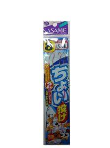 ささめ針(SASAME) K-001 チョイ投2本針 8号1.5