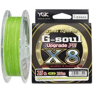 よつあみ(YGK) ライン G-soul X8 UPGRADE 1.2号 200m