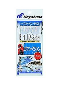 ハヤブサ HS640 沖縄サビキ ガツン・ミジュン ツイストウイリーMIX