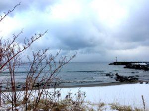 冬の釣り場