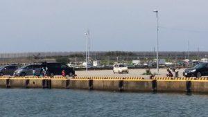 海釣り駐車