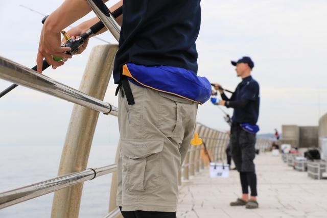 堤防ルアー釣り2
