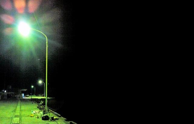 アジング ポイント 常夜灯周り