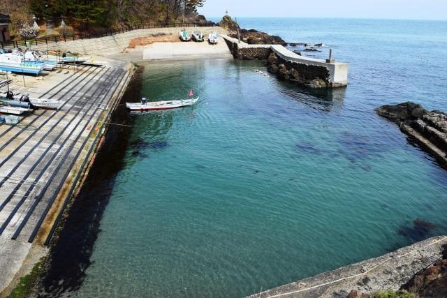 アジング ポイント 漁港スロープ
