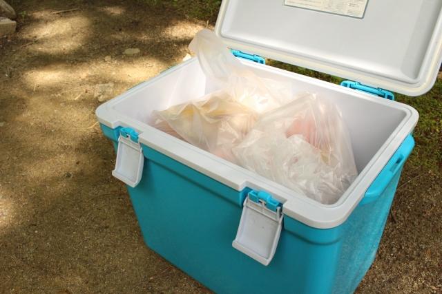 泳がせ釣り生き餌クーラーボックス