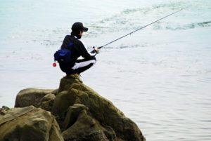 エギング釣り場 磯