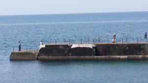 村上市馬下漁港