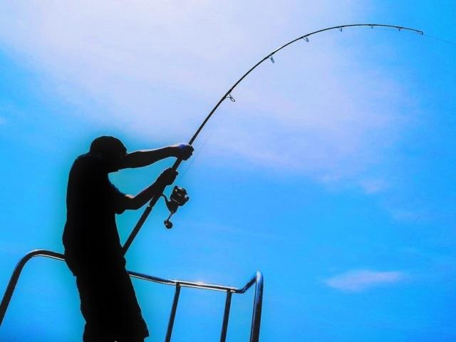 船釣りでの泳がせ釣りロッド