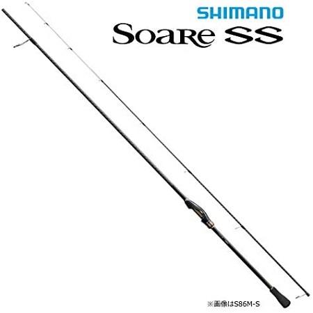 シマノ(SHIMANO) メバリング アジング ロッド 18 ソアレ SS S73SUL-S