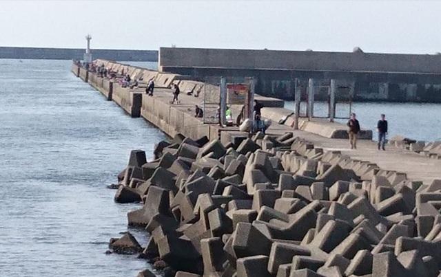 ハッピーフィッシング新潟東港第2東防波堤管理釣り場