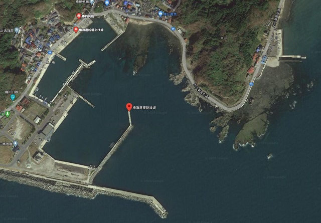 秋田 男鹿 椿漁港