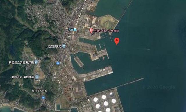 秋田 男鹿 船川港