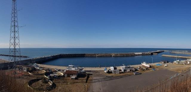 秋田 西目漁港