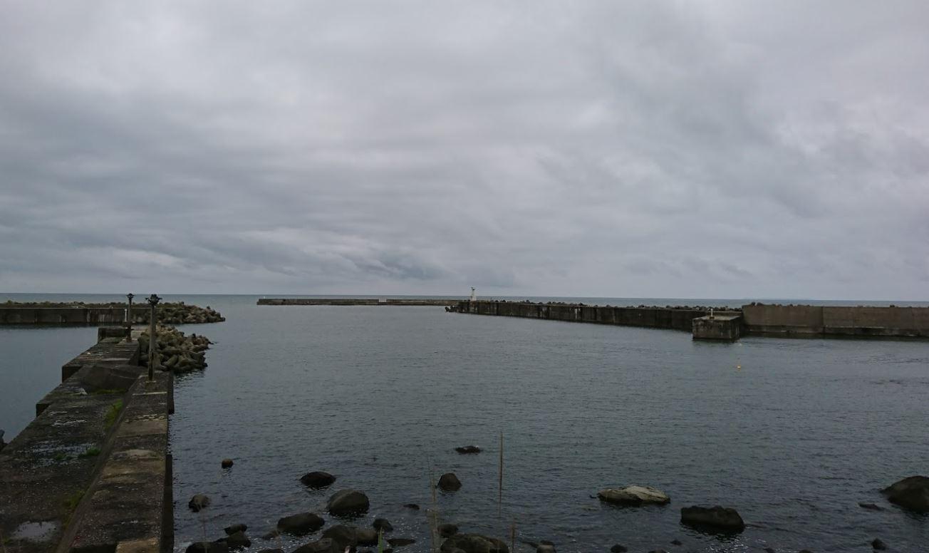 秋田 金浦漁港
