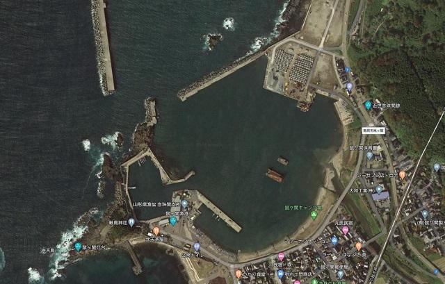 鼠ヶ関漁港