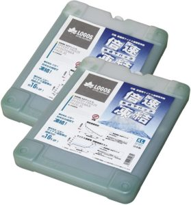 ロゴス(LOGOS) 保冷剤 倍速凍結・氷点下パックXL 奥行25.5cm 幅19.5cm 高さ3.5 cm 長時間保冷