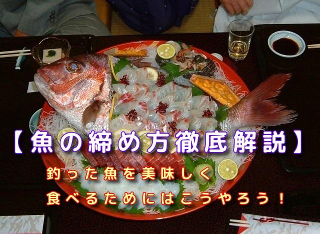 釣った魚を美味しく食べるために