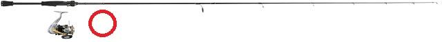 スピニングロッドロッドとスピニングリールの組み合わせ