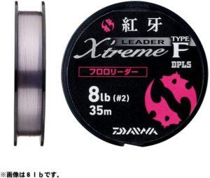 ダイワ(Daiwa) ショックリーダー 紅牙 EX タイプF フロロカーボン 35m 3号 12lb ステルスピンク 69687