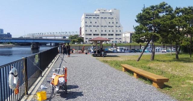 新木場公園釣りエリア