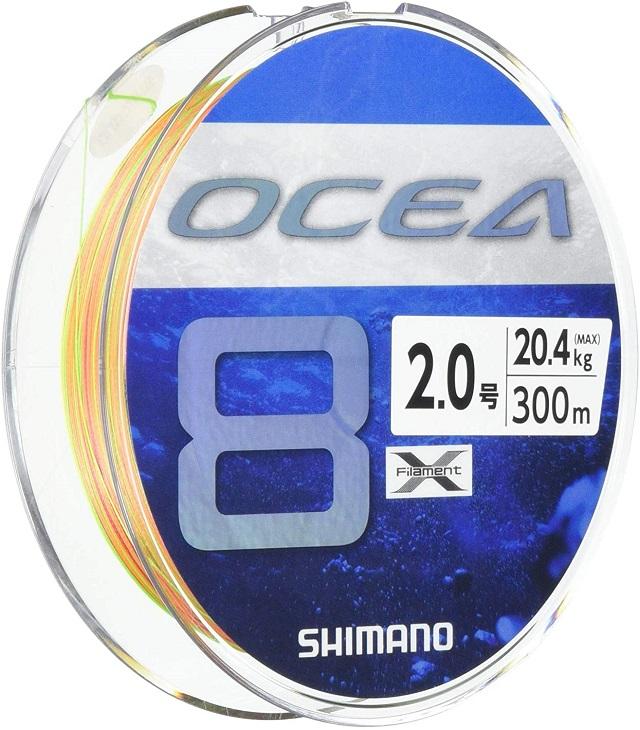 シマノ(SHIMANO) ライン オシア8 300m~500m 1.5~12.0号