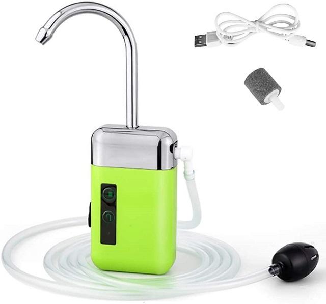 エアーポンプ 電動 酸素ポンプ 自動誘導ポンプ 低騒音 40dB