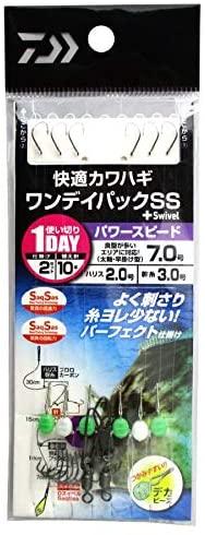 ダイワ(DAIWA) 快適カワハギ ワンデイパックSS+S パワースピード 7.0号