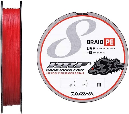 ダイワ(Daiwa) PEライン UVF HRF センサー8ブレイド+Si 200m 1号 17lb バトルレッド