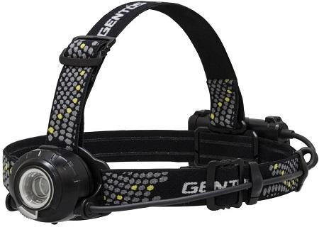 GENTOS(ジェントス) LED ヘッドライト ヘッドウォーズ 【明るさ200-500ルーメン・実用点灯5-11時間・後部認識灯】 ANSI規格準拠