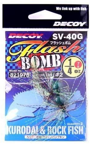 カツイチ(Katsuichi) デコイ SV-40G フラッシュボム グリパン #7g (1・4oz)
