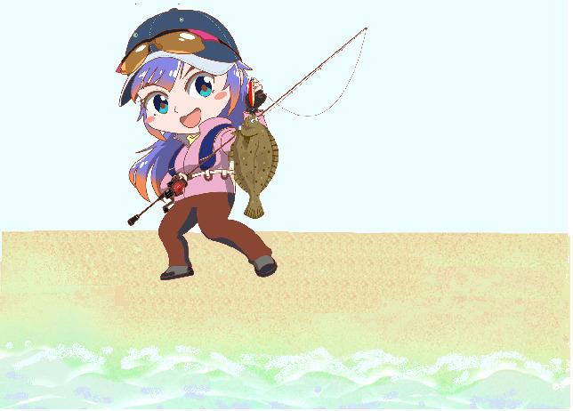 サーフショアジギングフラットフィッシュ狙いの釣り方