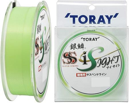 東レ(TORAY) ナイロンライン 銀鱗 スーパーストロングアイサイト 150m 3号 ライトグリーン