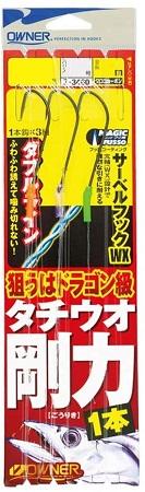 OWNER(オーナー) タチウオ剛力1本 No.33460 2・0-7号
