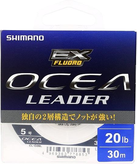 シマノ(SHIMANO) ショックリーダー オシア EX フロロカーボン CL-O26L(30m) ・ CL-O36L(50m)