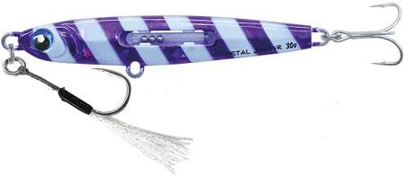 ルミカ(日本化学発光) エクストラーダ メタルジャッカー タチウオ用 A21850 30g パープルスラッシュ