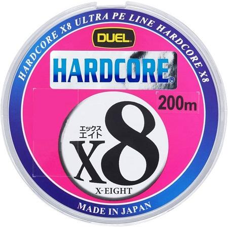 DUEL(デュエル) HARDCORE(ハードコア) PEライン HARDCORE X8 0.6号~8.0号
